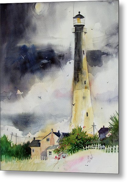 Tybee Lighthouse Metal Print