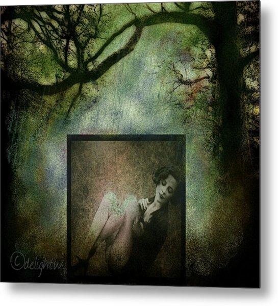 Metal Print featuring the digital art Tyranny Of Pretty by Delight Worthyn