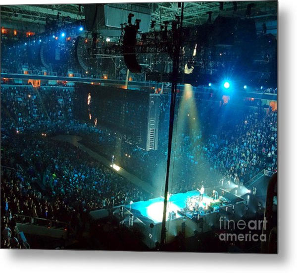 U2 Innocence And Experience Tour 2015 Opening At San Jose. 1 Metal Print