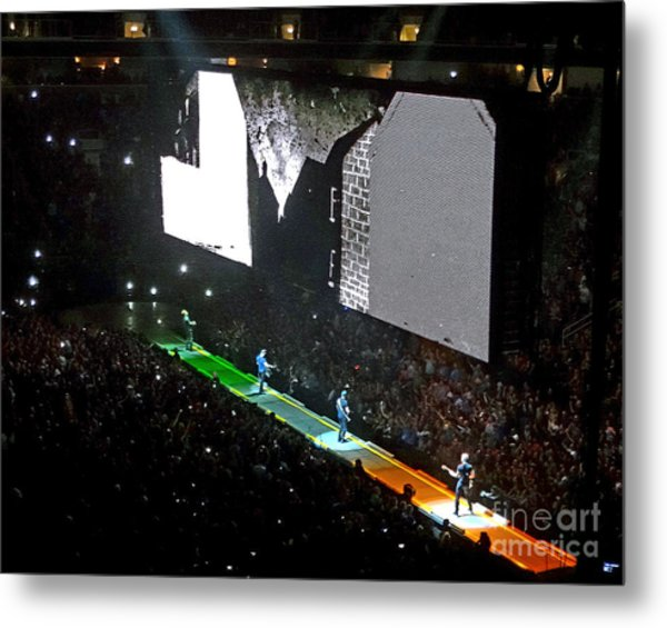 U2 Innocence And Experience Tour 2015 Opening At San Jose. 4 Metal Print