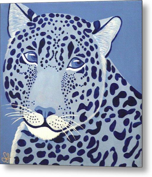 Ultramarine Jaguar Metal Print