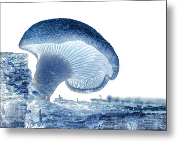 Ultraviolet Fungi Metal Print