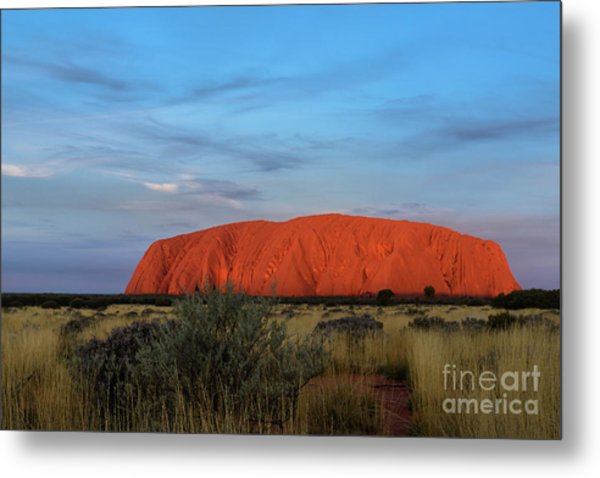 Uluru Sunset 03 Metal Print