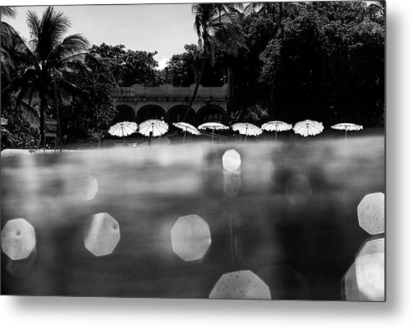 Umbrellas 2 Metal Print