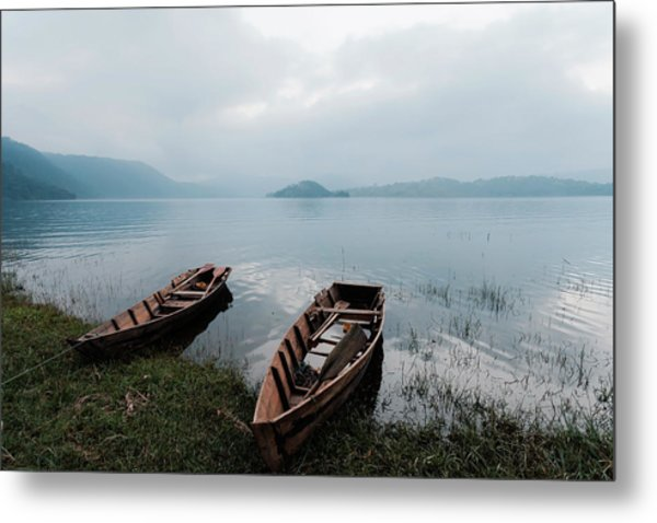 Umiam Lake, Shillong, India Metal Print