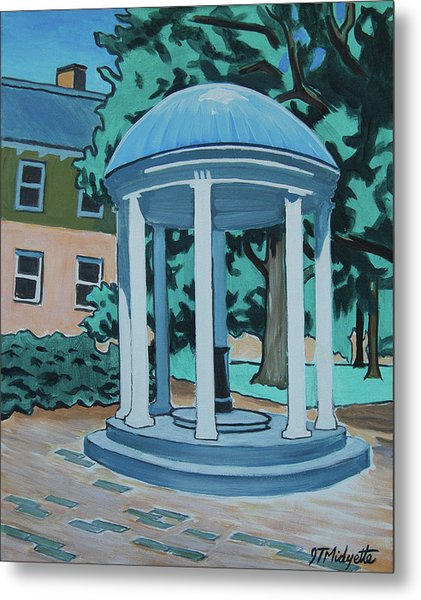 Unc Old Well Metal Print