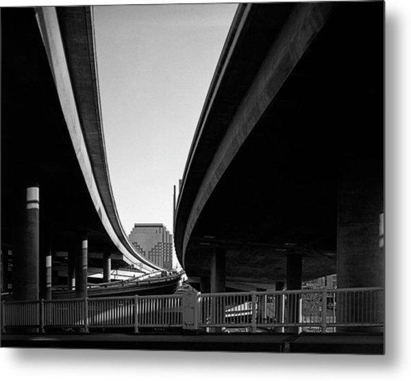 Under Interstate 5 Sacramento Metal Print