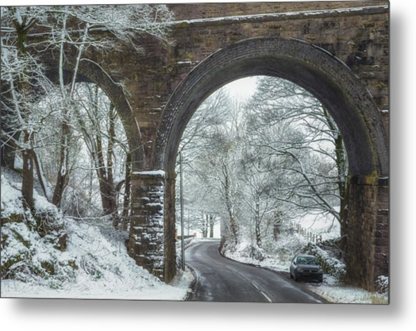 Under The Arches Metal Print