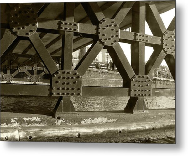 Metal Print featuring the photograph Under The Bridge 2 by Scott Hovind