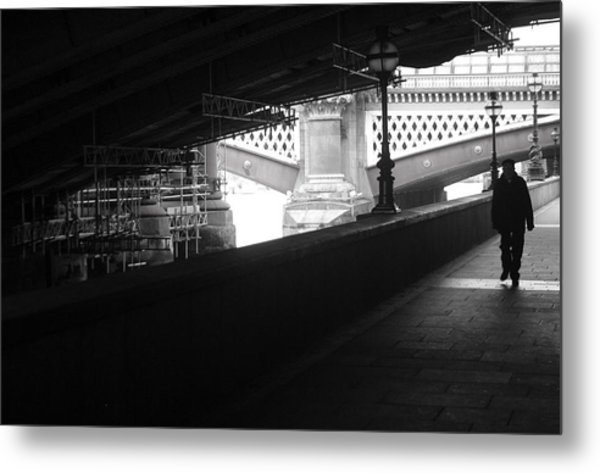 Under The Bridgewalk Metal Print by Jez C Self