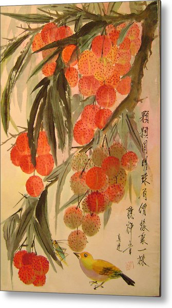 Under The Lichee Tree Metal Print by Lian Zhen