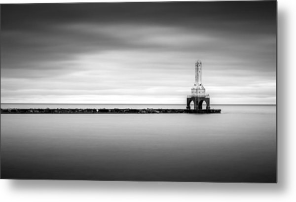 Under The Motion Metal Print