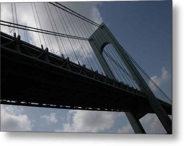 Under The Verrazano Narrows Bridge  Metal Print