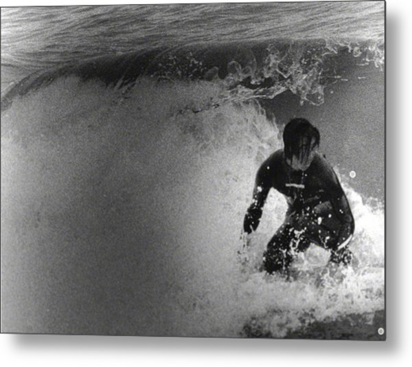 Under The Wedge 2 Metal Print