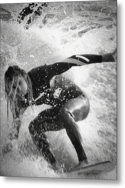Under The Wedge 3 Metal Print