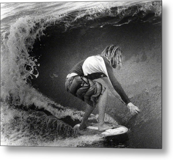 Under The Wedge 5 Metal Print
