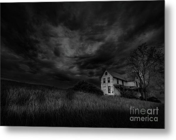 Under Threatening Skies Metal Print