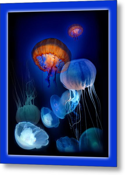 Undersea Dream Metal Print