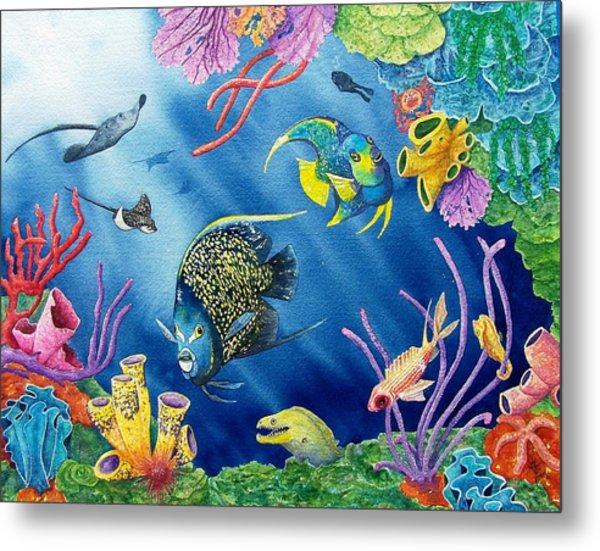 Undersea Garden Metal Print