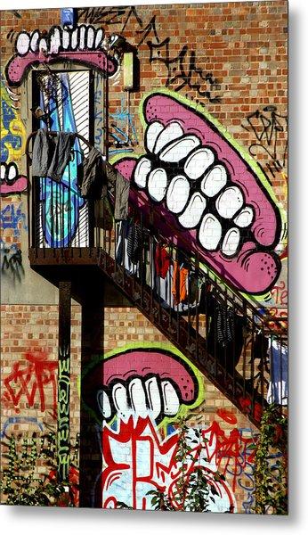 Underteeth The Stairs 2 Metal Print by Jez C Self