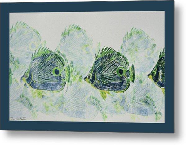 Underwater Impressions Metal Print