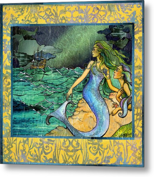 Unfeeling Fishes Metal Print
