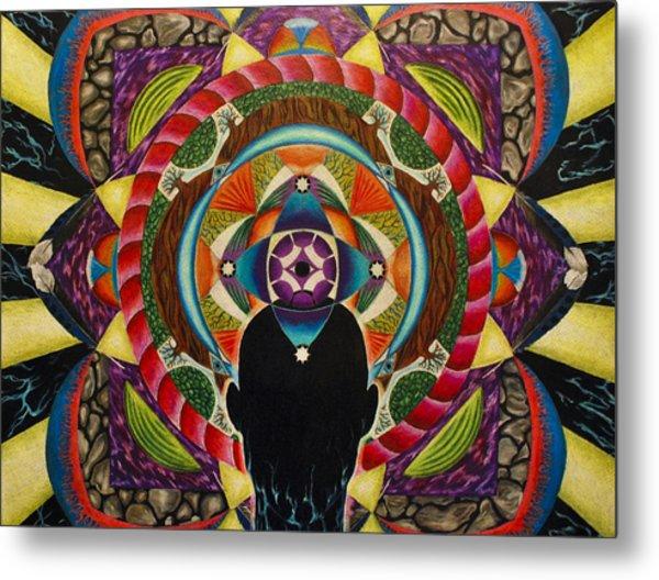 Unfolding Spirit Metal Print by Matthew Fredricey
