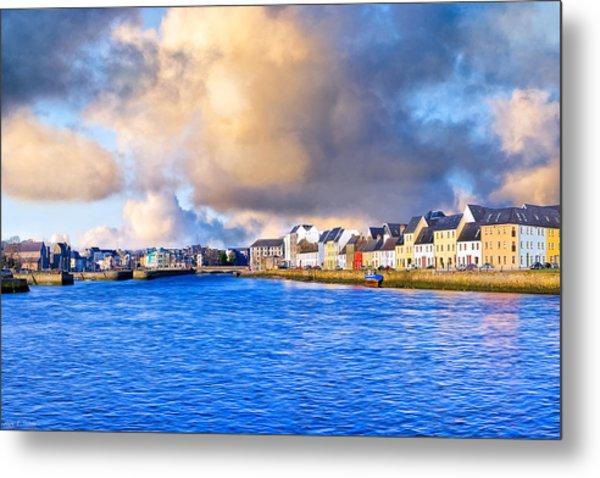 Unforgettable Galway Seaside Metal Print by Mark Tisdale