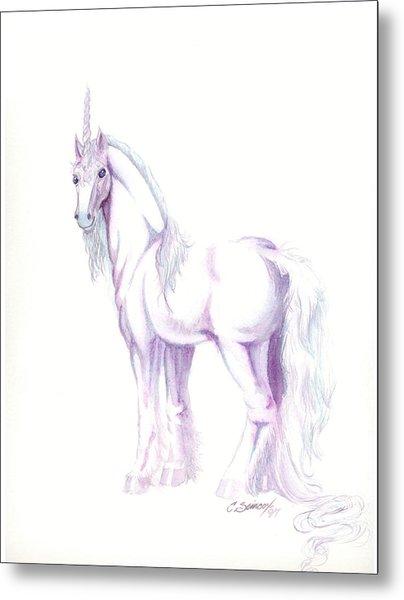 Unicorn Metal Print by Christine Winters