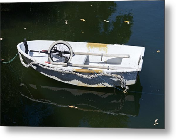 Unicycle Dinghy Metal Print