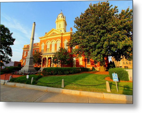 Union County Court House 10 Metal Print