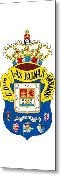 Union Deportiva Las Palmas Sad Metal Print