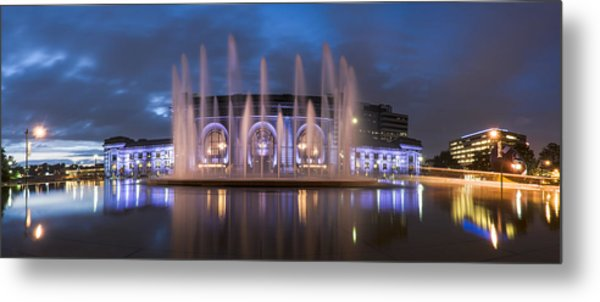 Union Fountain Metal Print