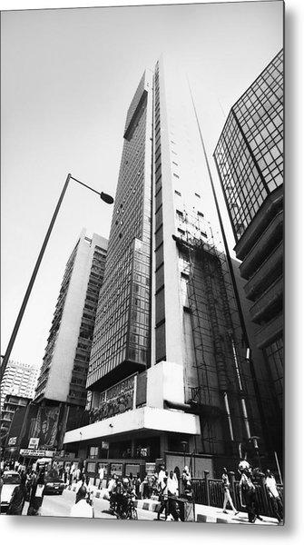 Union Bank Hq, Marina Metal Print