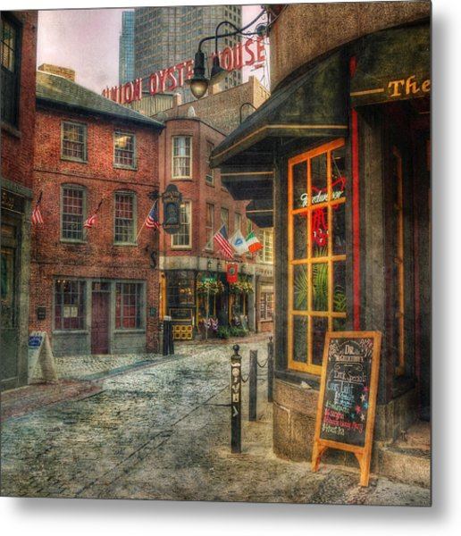 Union Oyster House - Blackstone Block - Boston Metal Print
