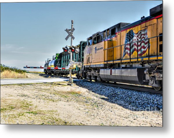 Union Pacific Metal Print