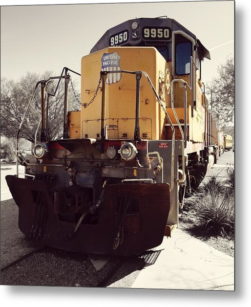 Union Pacific No. 9950 Metal Print