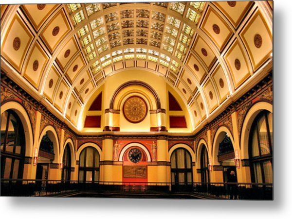 Union Station Balcony Metal Print