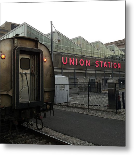 Union Station Morning Metal Print