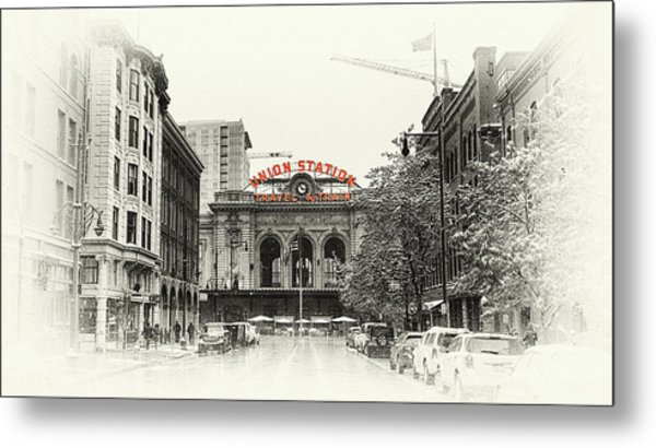 Metal Print featuring the photograph Union Station  by Susan Rissi Tregoning