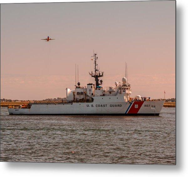 United States Coast Guard Cutter Escanaba Wmec-907 Metal Print