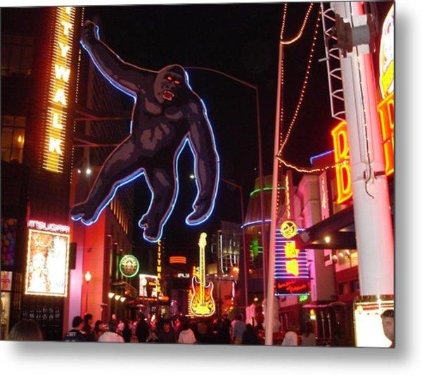 Universal King Kong Metal Print