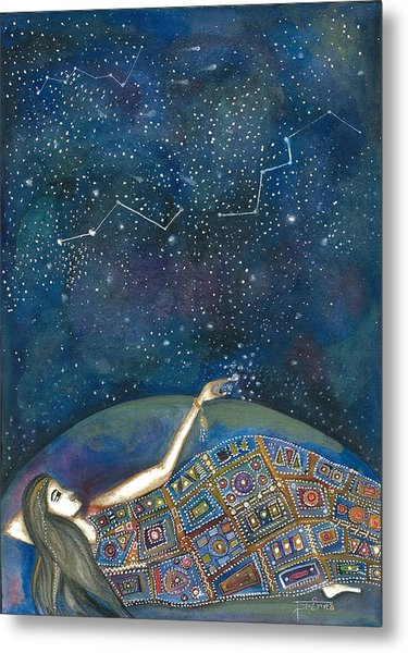 Universal Magic Metal Print