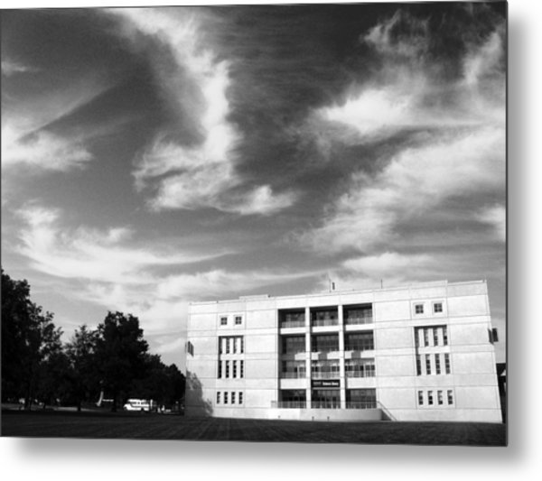 Metal Print featuring the photograph University At Albany  by Jessica Tabora