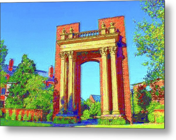 University Of Illinois  Metal Print