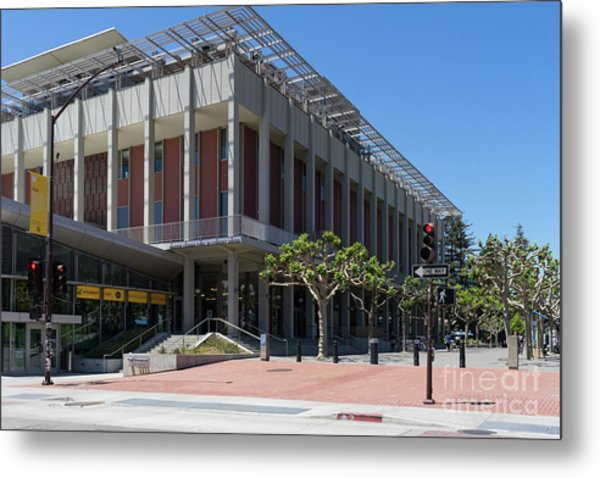 University Of California At Berkeley Martin Luther King Jr Asuc Student Union Sproul Plaza Dsc6241 Metal Print