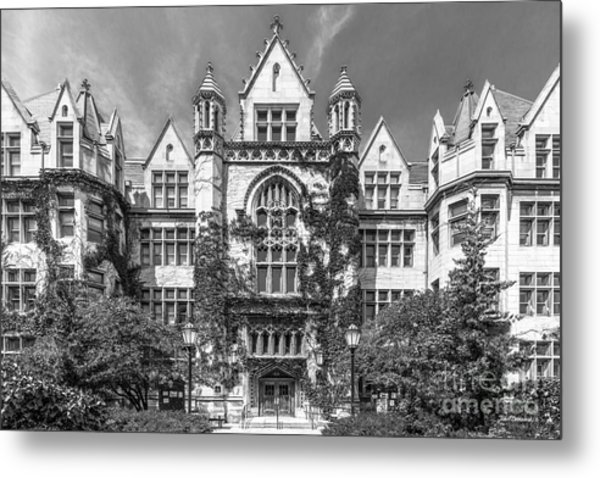 University Of Chicago Cobb Hall Metal Print