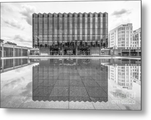 University Of Chicago D' Angelo Law Library Metal Print