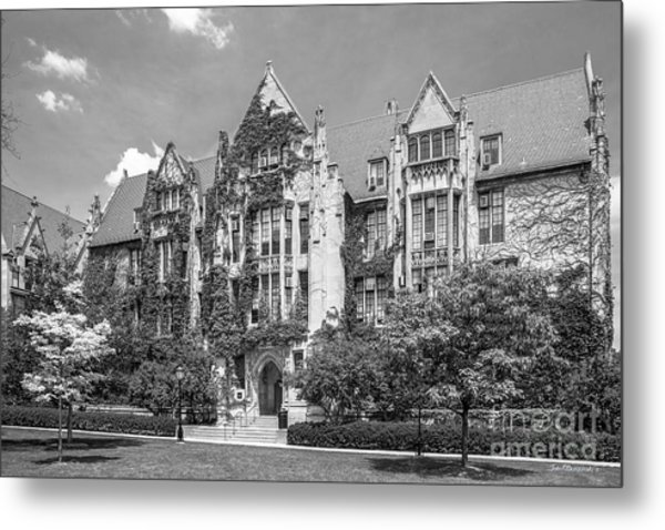 University Of Chicago Eckhart Hall Metal Print