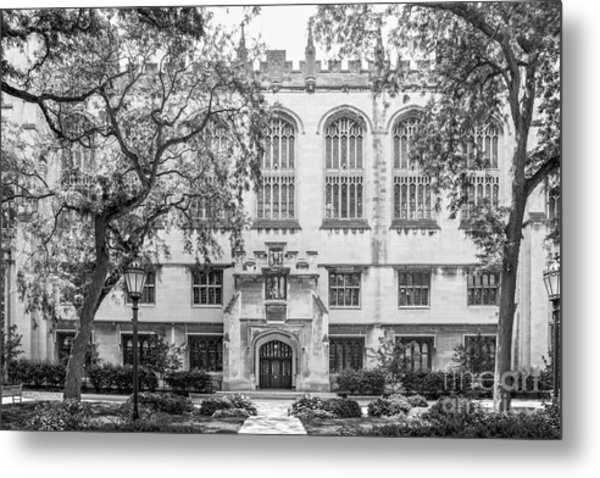 University Of Chicago Harper Memorial Library Metal Print